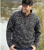 Melierter Pullover Canadian Way
