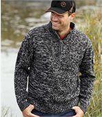 Melírovaný sveter Canadian Way preview1