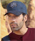 Men's Denim Baseball Cap - Arizona Biker preview1