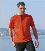 Lot de 3 Tee-Shirts Col Tunisien Pacific Trip preview3