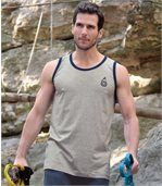 """3er-Pack Tanktops """"Forest Trail"""" preview3"""
