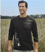 Pack of 2 Men's Exploration Tops - Black Green