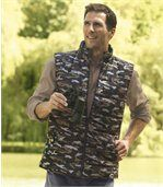 Donzen camouflage bodywarmer preview2