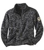 Melierter Pullover Canadian Way preview2