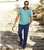 Men's Casual Blue Trousers preview2