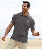 Zestaw 3 koszulek polo w jednolitych kolorach preview3