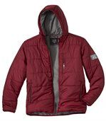 Men's Snow Time Red Padded Jacket preview3