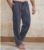 Pantalon Cargo Molleton