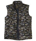 Donzen camouflage bodywarmer preview3