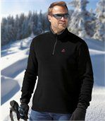 Men's Beige Pack of 3 Mountain Microfleece Jumpers preview4