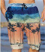 Bermudy na kúpanie z mikrovlákna Beach Day preview1
