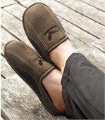 Semišové papuče na chvíle oddychu preview2