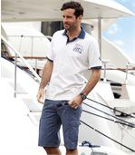 Bermuda aus kariertem Tuch preview2