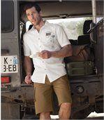 Men's Brown Cargo Shorts preview2