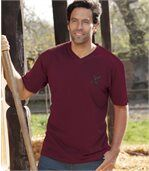 4er-Pack T-Shirts Eagle Park mit V-Ausschnitt preview2
