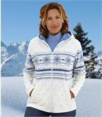 Kapuzenjacke Winter Valley aus Fleece