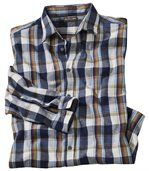 Men's Checked Shirt - Flannel