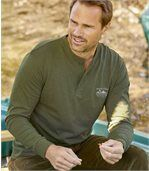 2er-Pack Henley-Shirts Countryside
