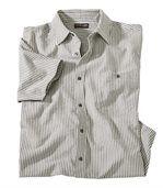 Pruhovaná košile svaflovým efektem preview2