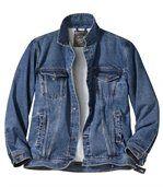 Džínová bunda Wild Horse s podšívkou z umělé kožešiny preview2