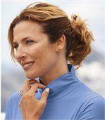 Podvlékací svetřík s nabíraným rolákovým límcem preview1