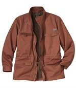 Men's Terracotta Safari Jacket - Arizona Valley