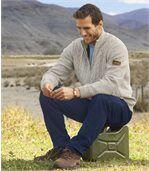 Pletený svetr Raid Adventure podšitý fleecem preview1
