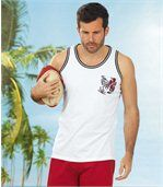 Set van 2 Windsurfing tanktops preview3