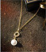 Náhrdelník Perla akrištáľ Ozdobený krištáľmi Swarovski® preview1