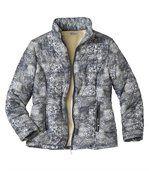 Prošívaná bunda zateplená podšívkou