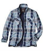 Vrchná košeľa s podšívkou z umelej kožušiny preview1