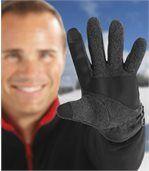 Flísové rukavice na dotykové displeje