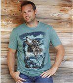Tričko s motivem vlků preview1