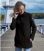 Hřejivá tunika z materiálu fleece/úplet