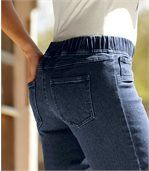 3/4 nohavice Jeans Komfort preview2
