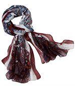 Elegante sjaal met kasjmierprint preview2