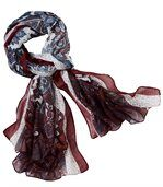 Kašmírový šátek s potiskem preview2
