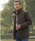 Men's Brown Highland Expeditions Microfibre Parka
