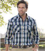 Popelínová košeľa Country Western preview1
