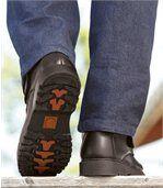 Zateplené kotníkové boty na suchý zip preview2