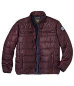 Men's Dark Red Original Outdoor Padded Jacket