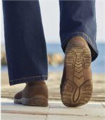 Men's Brown Casual Slip-On Moccasins preview2