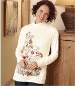Women's Floral Tunic preview1