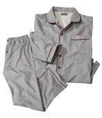 Flanellen, streelzachte pyjama preview1