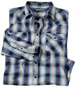 Popelínová košeľa Country Western preview2