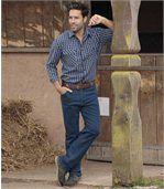 Strečové džíny American Root preview2
