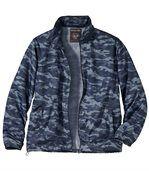 Men's Blue Camouflage Windbreaker preview1