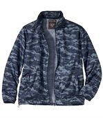 Windbreaker mit Camouflage-Aufdruck preview1