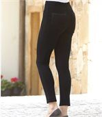 Women's Black Comfortable Trousers