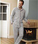 Flanellen, streelzachte pyjama preview2
